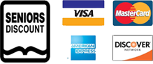 Credit Cards Our Mesa AC Repair Company Accepts